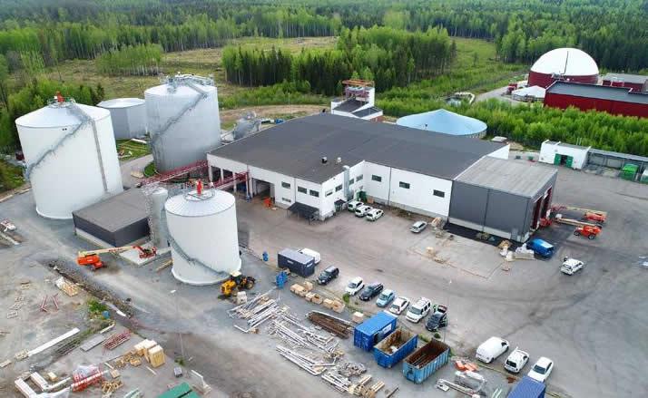 VafabMiljö Biogas plant